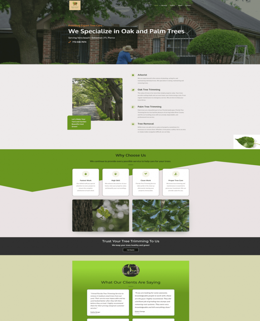 Sample Website by WSO